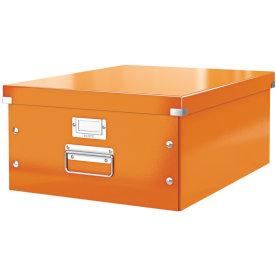 Leitz Click & Store opbevaringsboks large, orange