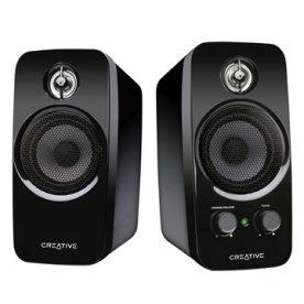 Creative Inspire T10 2.0 højttaler, sort