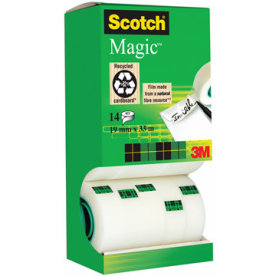 Scotch Magic 810 tape, value pack m. 14 rl.