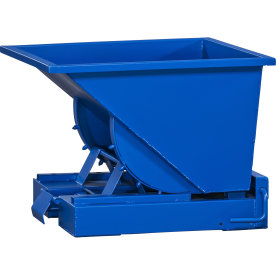 Tipcontainer 150 l, blå