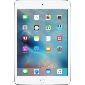 Apple iPad mini 4, Wi-Fi + 4G, 128GB, Sølv