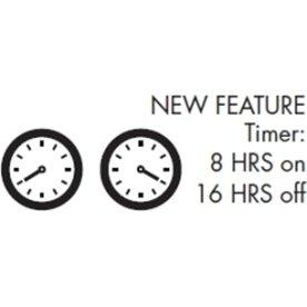 Top-Line Timer - 8 timer tænd/16 timer sluk