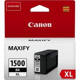 Canon PGI-1500XL, sort, 1200s.