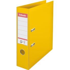 Esselte No.1 brevordner A4, 75mm, gul