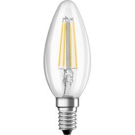 Osram Retro LED Kertepære klar E14, 4W=40W