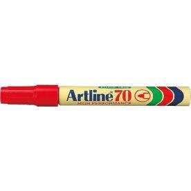 Artline EK70 marker, rød