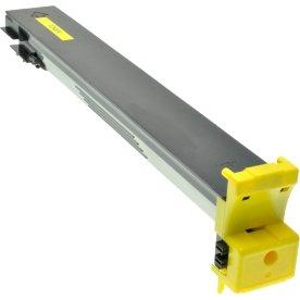 Konica Minolta 8938-510 lasertoner, gul, 12000s