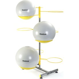 Reebok Gymball opbevaringsstativ, gul