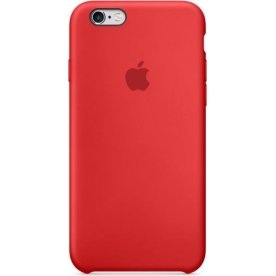 Apple iPhone 6s Silicone Case, rød