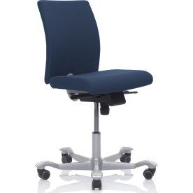 HÅG H04 kontorstol Blå Extreme sølvfarvet stel