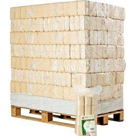 RUF træbriketter - 96x10 kg = 960 kg
