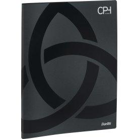Bantex CPH Demomappe A4, PP, med 20 lommer, sort