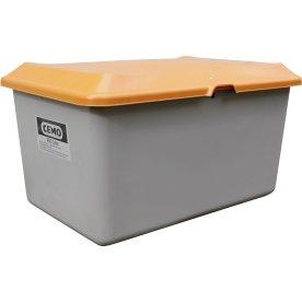 Salt-/sandbeholder 400 L, Grå/orange