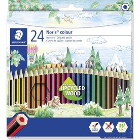 Staedtler Noris Color farveblyanter, 24 farver