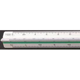Linex 314 trekantet målestok, 30 cm