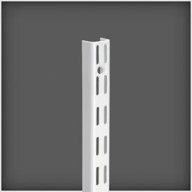 Elfa vægskinne, længde 2400 mm, hvid