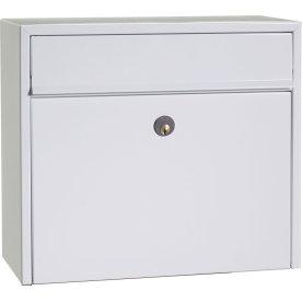 Allux LT200 Postkasse, hvid, Ruko lås