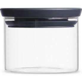 Brabantia Opbevaringsbøtte i glas, 0,3 liter