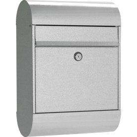 Allux 6000 Postkasse, galvaniseret, Ruko lås