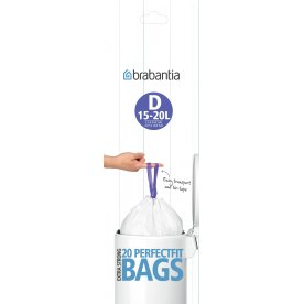 Brabantia Affaldspose D, 15-20 liter, 20 stk.