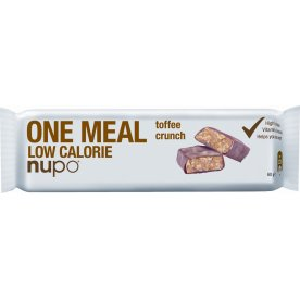 Nupo One Meal bar Caramel Crunch, 60g