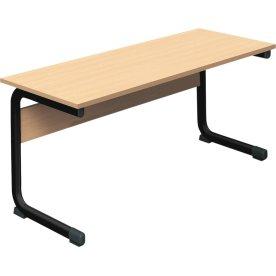 Class dobbelt bord sort, size 3