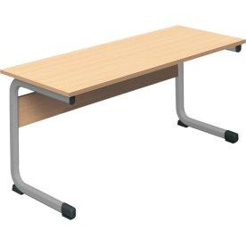 Class dobbelt bord sølv, size 3