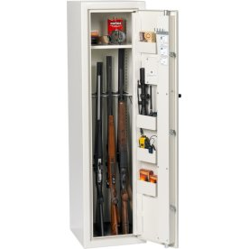 Profsafe våbenskab S8 m/nøglelås, 1500x400x425 mm