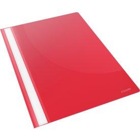 Esselte Vivida tilbudsmappe, A4, uden lomme, rød