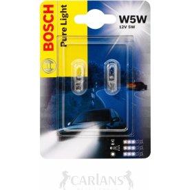 Bosch w5w mini halogen/glassokkel lampesæt