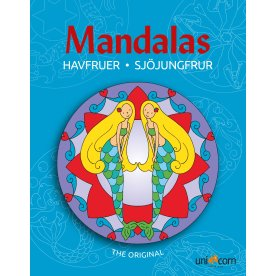 Mandalas malebog Eventyrlige havfruer