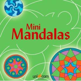 Mini Mandalas malebog, grøn