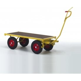 Ravendo transportvogn, 1500x700x370, Luftgummi