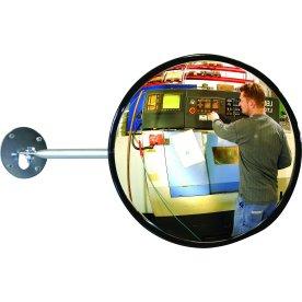 Industrispejl rundt ø50 cm, Akryl, inde
