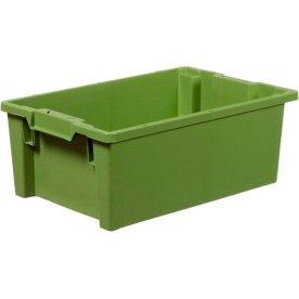 Arca stabelkasse 40 liter, 600x400x220, Hvid