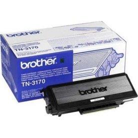 Brother TN3170 lasertoner, sort, 7000s
