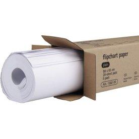 Flipoverblok 98x65 cm, 20 ark blank