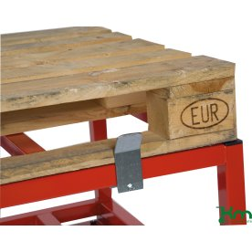 Palleholder til palletransportvogn, 4 stk.