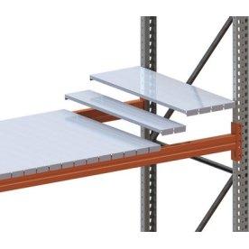 META palle stålhylde, 270x110 mm, Galvanis