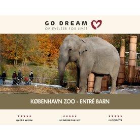 Oplevelsesgave - København Zoo, Entré Barn