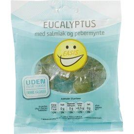 EASIS Eucalyptusbolcher i pose sukkerfri, 70 g