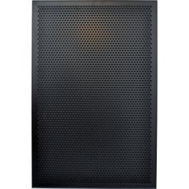 Vanerum Contact Opal opslagstavle 90x60 cm, sort