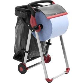 Tork W1 Affaldsposeholder til gulvstativ, sort