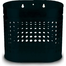 RMIG affaldsspand type 526U, sort mat