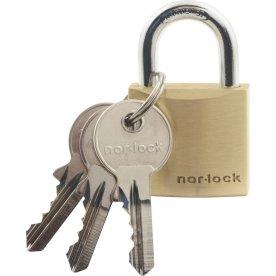 Nor-Lock hængelås m/nøgle, 30 mm