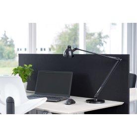 Easy bordskærmvæg H65xB160 cm sort