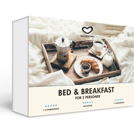 Oplevelsesgave - Bed & Breakfast for 2