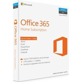 MS Office 365 Home Subscription, Mac/Win