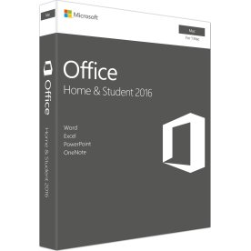Microsoft Office Mac Home & Student 2016 (NORDIC)