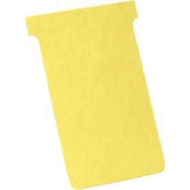Legamaster T-card til inddelingstavle, gul